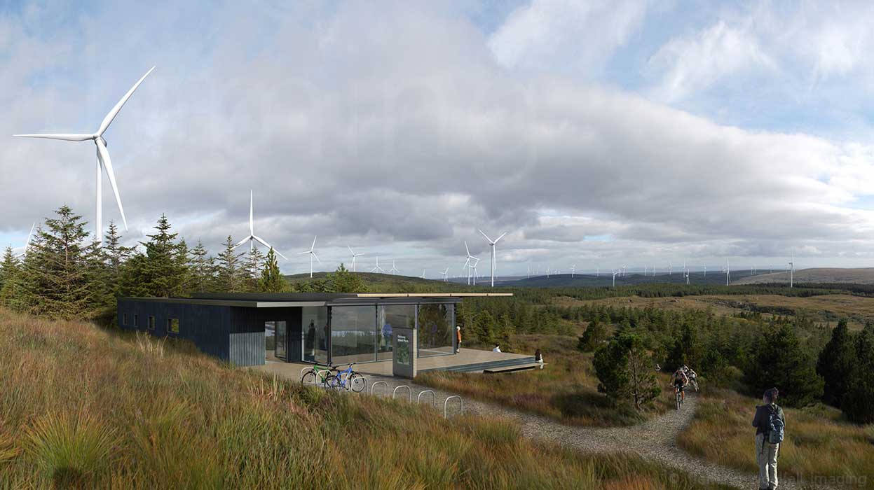 Galway Wind Park Visitor Centre