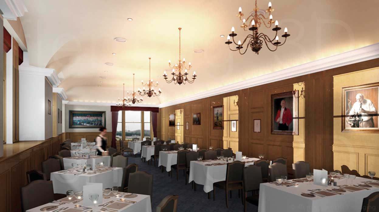 Royal and Ancient Golf Club St Andrews dining room