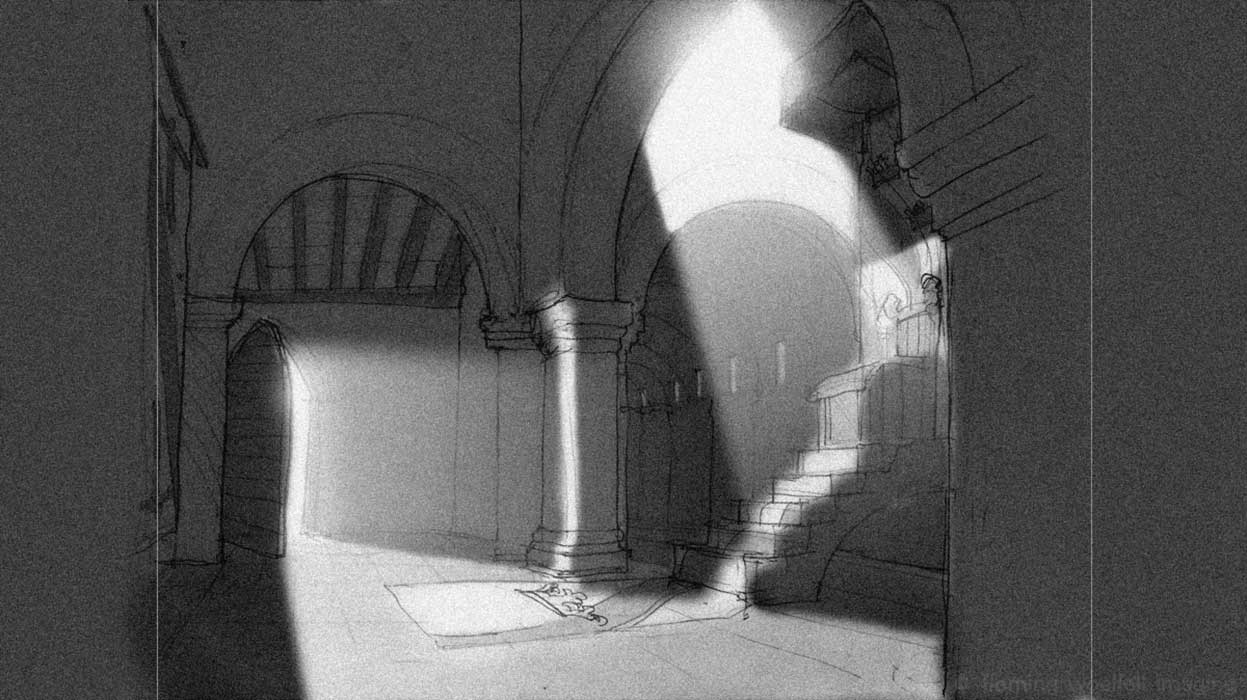 Storyboard throne room image